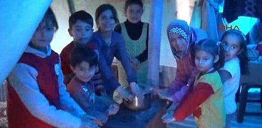 Ateþ altýndaki Türkmenler DHA`ya konuþtu
