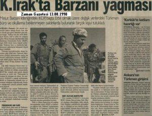 Barzani Katliamı,Zaman